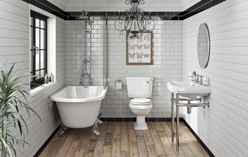 Create a Victorian style bathroom | VictoriaPlum.c