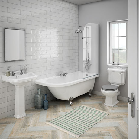 Appleby RH Traditional Bathroom Suite | Victorian Plumbing