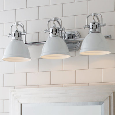 Mid Century & Vintage Bathroom Lighting - Shades of Lig