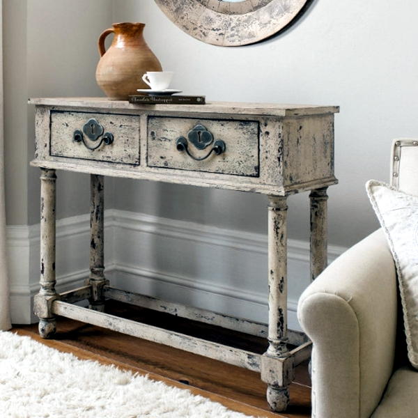DIY vintage furniture – 3 Techniques to distressed | Interior .
