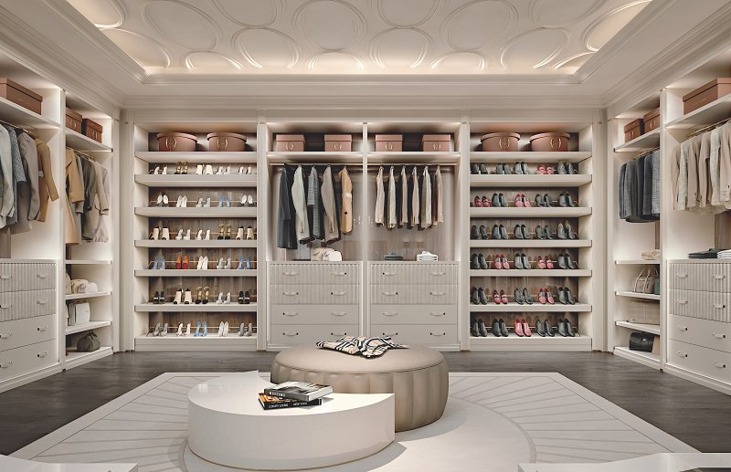 Walk-In Closet Design – Ellipse by Francesco Pasi | Archi-living.c