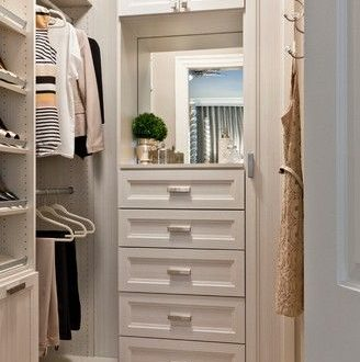 20 Incredible Small Walk-in Closet Ideas & Makeovers | Closet .