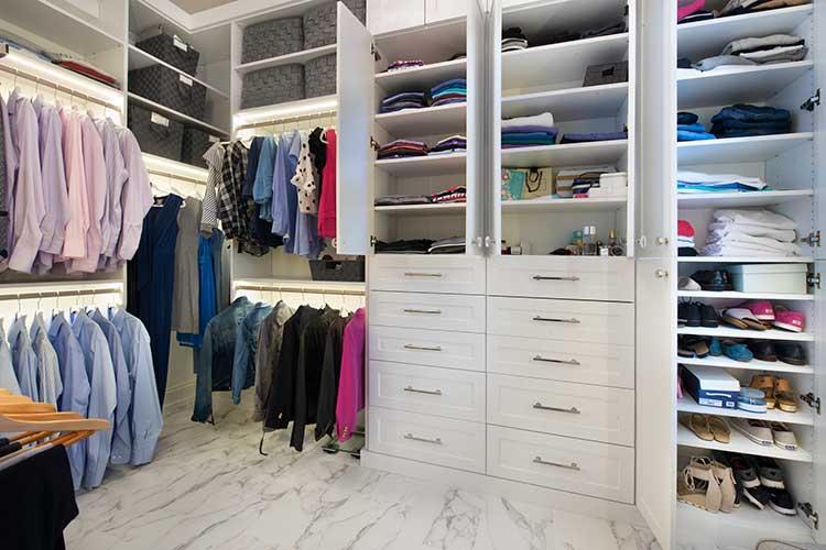 Custom walk in closets and walk in closets ide
