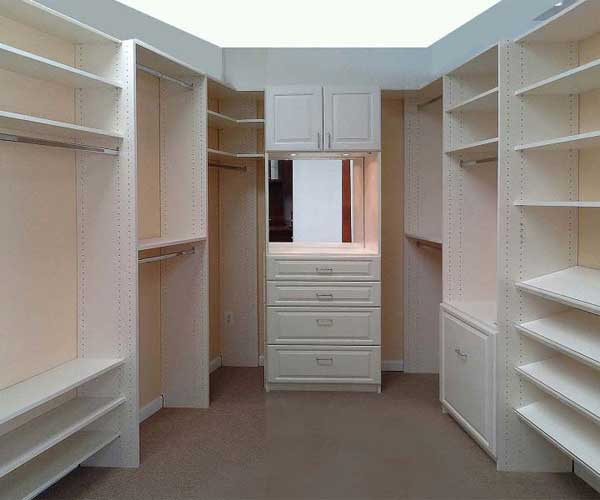 Large Closets, Walk In Closets custom made in MD, VA,