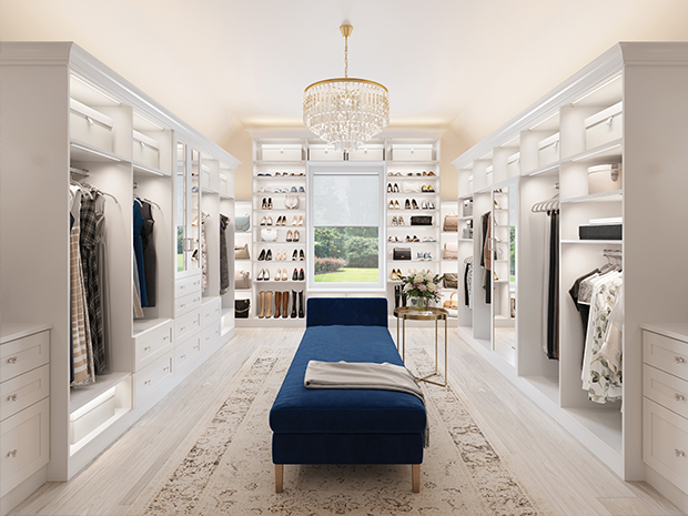 Walk In Closet Systems | Walk-In Closet Design Ideas | California .