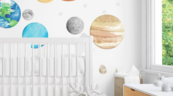 20 Best Wall Decals for Kids - Cute Temporary Wall Sticke
