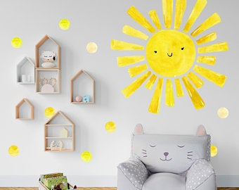 Kids wall decal | Et