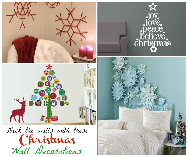 Christmas Wall Decorations Ideas To Deck Your Walls - Christmas .