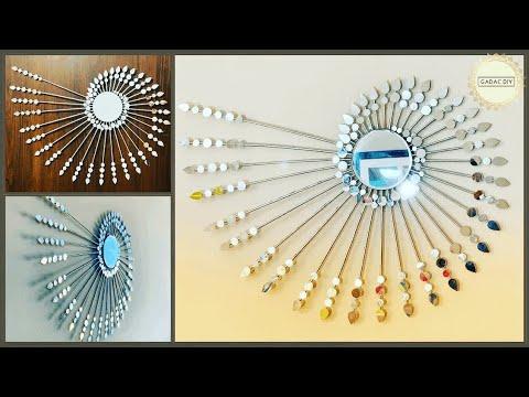 Unique wall hanging ideas| gadac diy| wall decoration ideas| Craft .