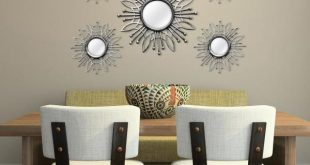Stratton Home Decor 5-Piece Silver Burst Wall Mirror SHD0257 - The .