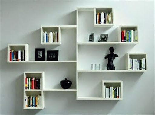 Image by aarti b on home | Wall shelves bedroom, Wall bookshelves .
