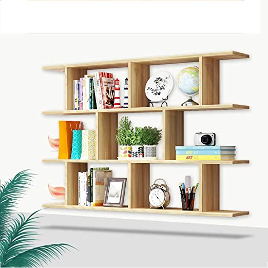 Amazon.com: AI XIN SHOP Wall Mounted Book Shelf, Floating Multi .