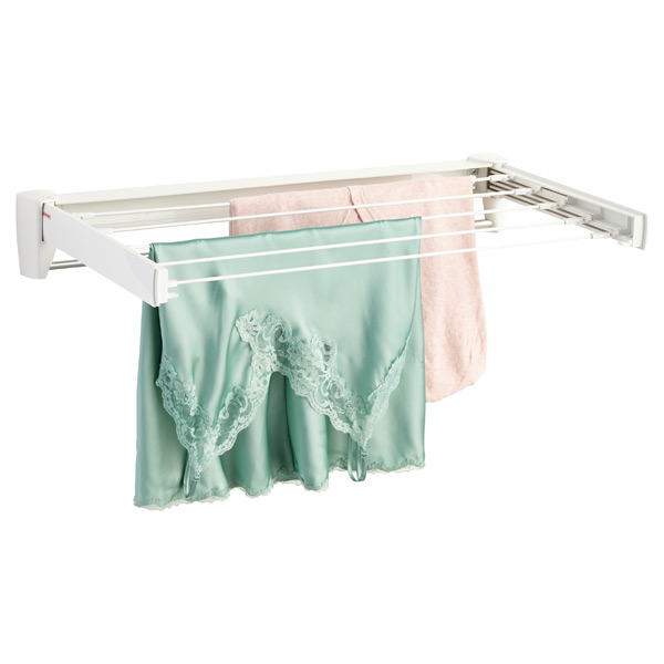 Fold-Away Wall-Mounted Clothes Drying Rack | The Container Sto