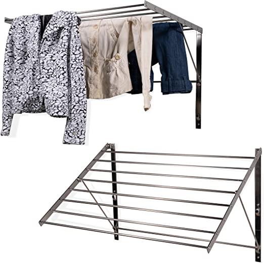 Amazon.com: brightmaison Clothes Laundry Drying Racks - 2 Set Rack .