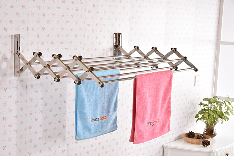 Wall Mounted Clothes Drying Rack Manufacturer -Hangm