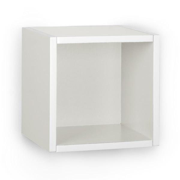 White Wall Cube and Decorative Shelf | Way Basi