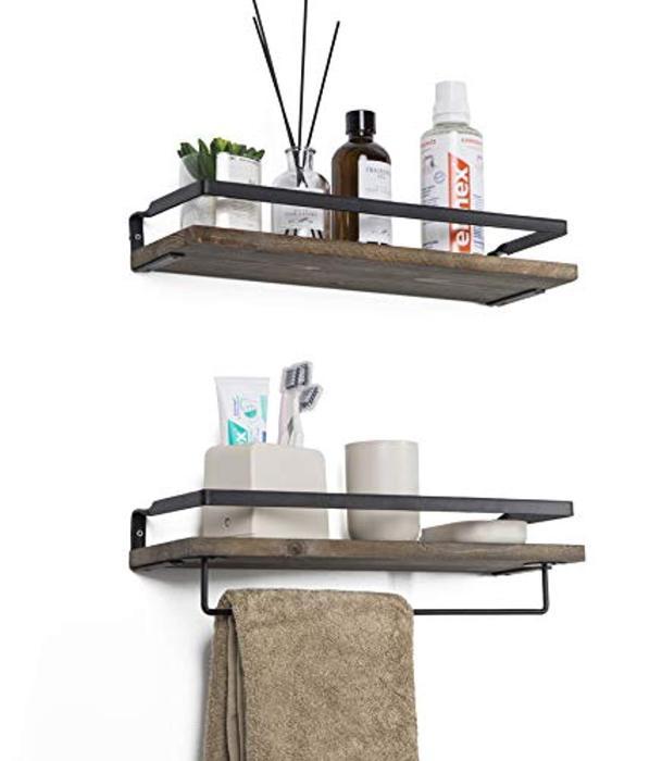 SODUKU Floating Shelves Wall Mounted Storage Shelves for Kitchen .