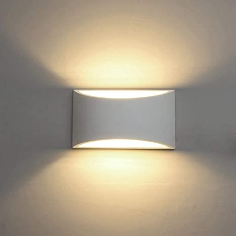 Modern LED Wall Sconce Lighting Fixture Lamps 7W Warm White 2700K .