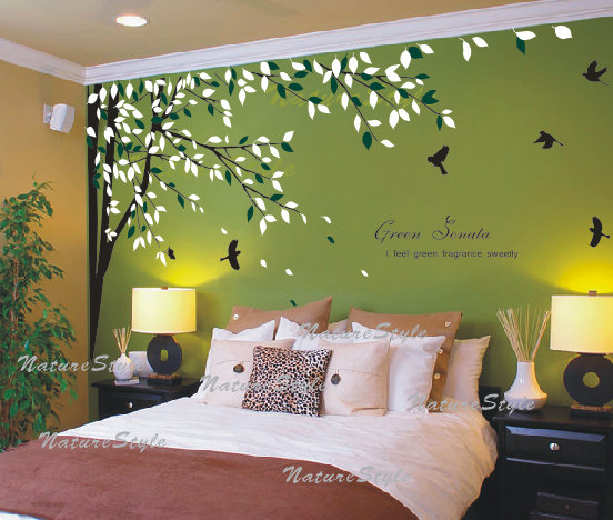 bedroom wall stickers birds – Decorating Your Room With The .