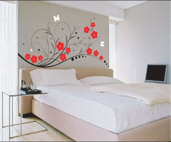 Modern Master Bedroom Wall Sticker Decorating Ideas - Best Wall .