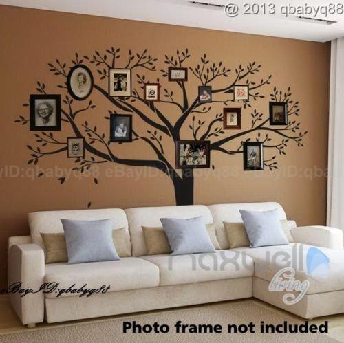 Giant Family Photo Tree Wall Decor Wall Sticker Vinyl Art Home .