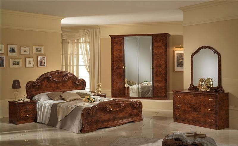 Real Wood Materials From Walnut Bedroom Furniture Sets .