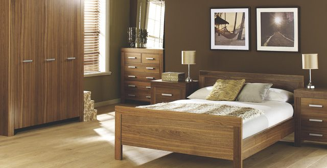Contemporary Walnut Bedroom Furniture - Contemporary - Bedroom .