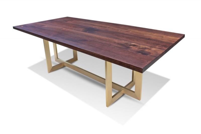 Modern Walnut Dining Table | markjupit