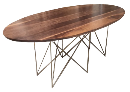 Solid Walnut Dining Table - Heather Ashton Desi