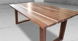 Solid Wood Dining Table 6 Solid Walnut Dining Table 6 Foot | Et
