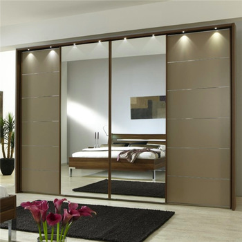 Wholesale 4 Sliding Doors Mirror Wardrobe - Buy Mirror Wardrobe .