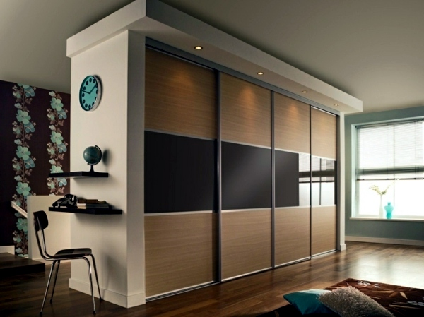 Wardrobe with sliding doors | Interior Design Ideas | AVSO.O