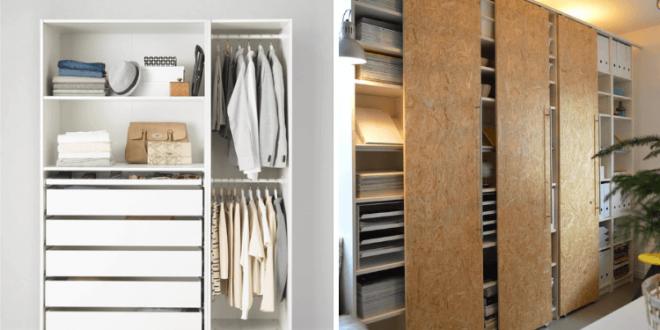 Hackers Help: How to make sliding closet doors for PAX? | Ikea .