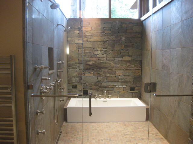 Wet Room - Contemporary - Bathroom - Seattle - by Gregory Carmicha