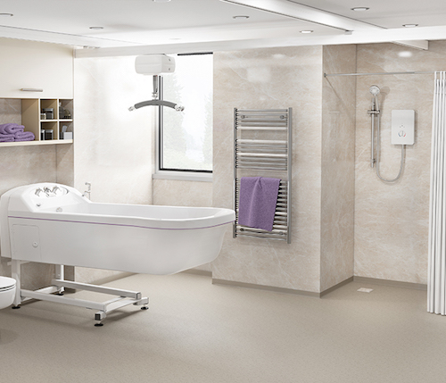Accessible wet rooms | Product | Independent Livi