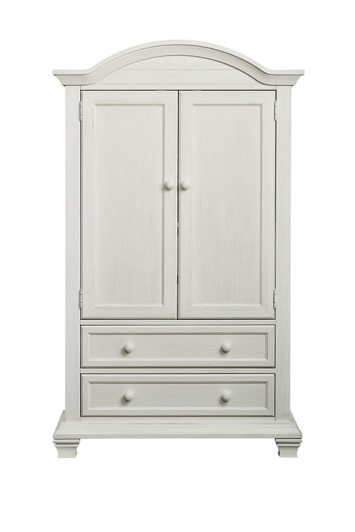 Oxford Baby Cottage Cove Armoire in Vintage White | Armoi