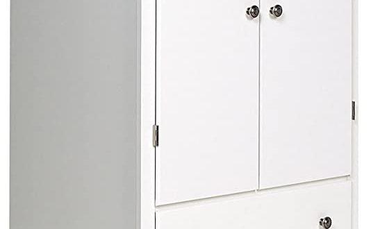 Amazon.com: Prepac White Monterey 2 Door Armoire: Kitchen & Dini