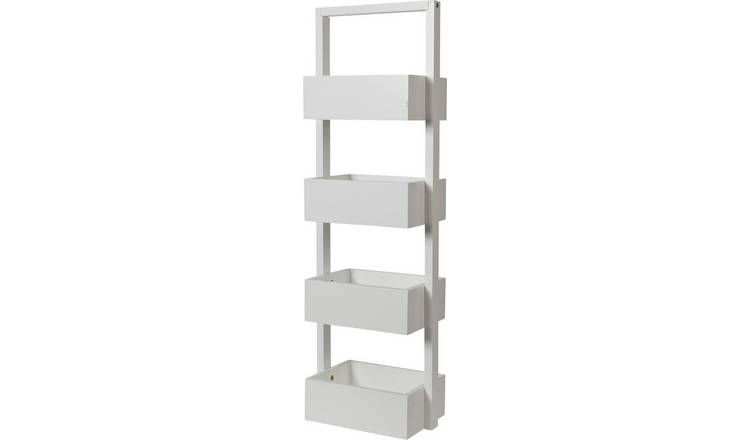 Buy Argos Home Freestanding Bathroom Storage Caddy - White .
