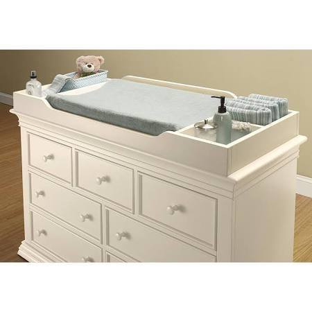 changing table dresser topper white - Google Search | Baby .