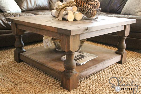 Corona Coffee Table - Square | Ana Whi