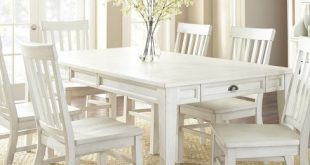 Cayla Dining Table White - Steve Silver : Targ