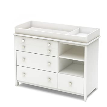 Amazon.com : South Shore Little Smileys Changing Table with .