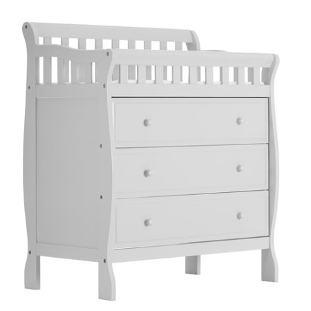 Dream On Me Marcus Changing Table And Dresser, White - Walmart.com .