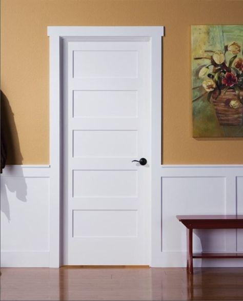 Shaker Doors | White interior doors, Shaker style interior doors .