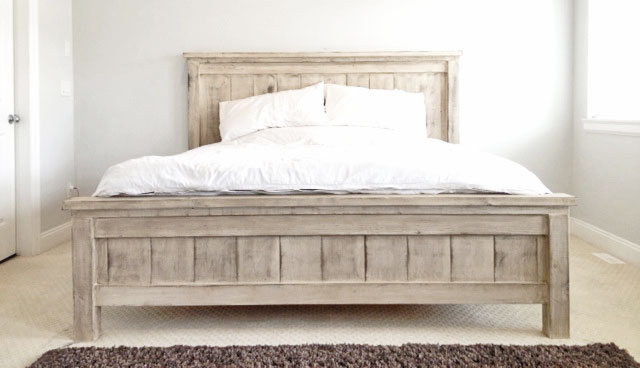 Farmhouse Bed - Standard King Size | Ana Whi