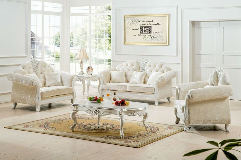 White Living Room Furniture — Oscarsplace Furniture Ideas : Tips .