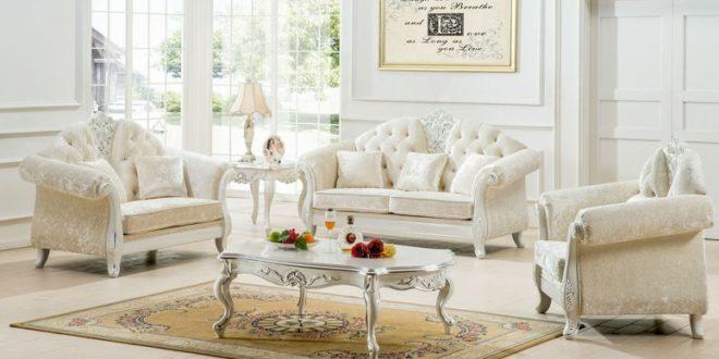 white vintage living room furniture - Vintage Dec