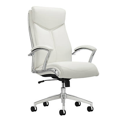 Realspace Verismo High Back Chair White - Office Dep