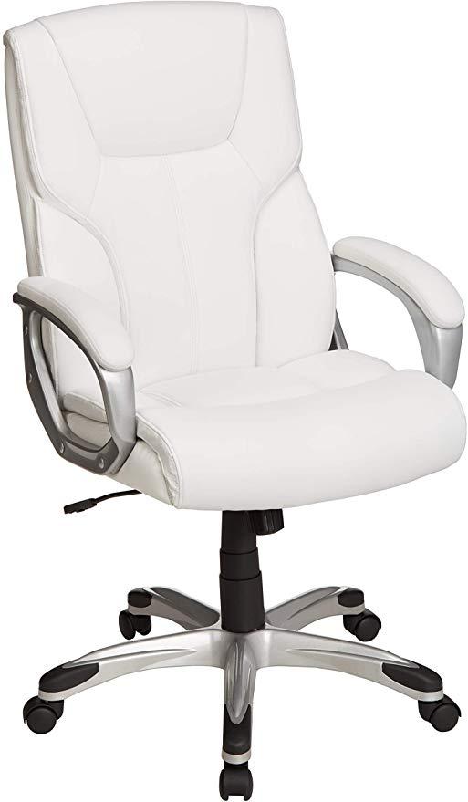 Amazon.com: AmazonBasics High-Back Executive Swivel Office Desk .