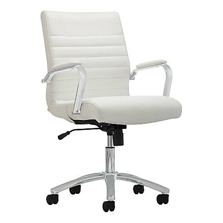 Realspace Modern Comfort Winsley Chair White - Office Dep